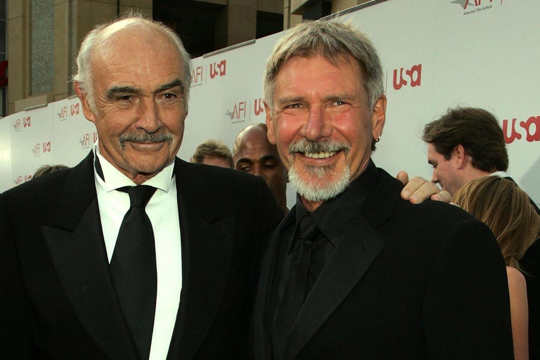 Sean Connery (†) + Harrison Ford