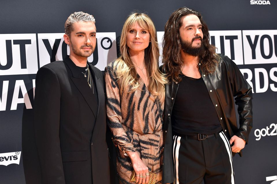 Bill Kaulitz, Heidi Klum + Tom Kaulitz