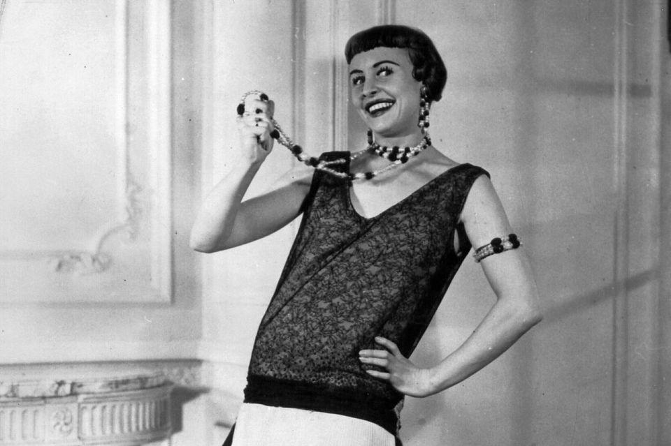 Ein typisches Flapper-Outfit in den 1920er/1930er Jahren