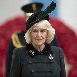 4. November 2020  Herzogin Camilla eröffnet am 4. November den92. Field of Remembrance an der Westminster Abbey. Mit ihrem Besuch gedenkt sie den Opfern des Ersten Weltkrieges. Ein öffentlicher Termin, der in den vergangenen Jahren von Prinz Harry übernommen wurde.
