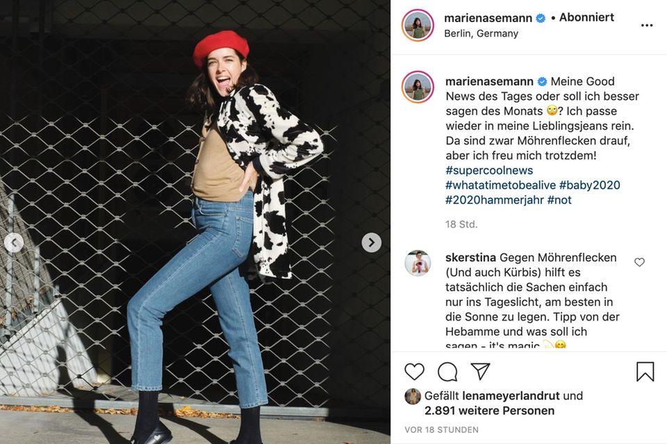 Marie Nasemann kann ihr Glück kaum fassen