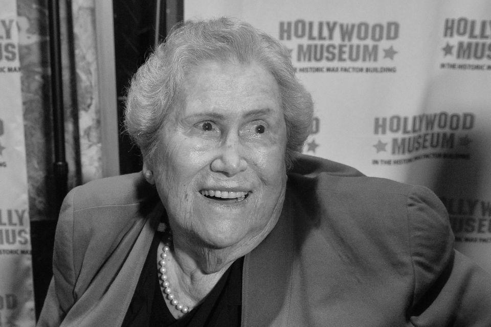 Elsa Raven (†91) im Dezember 2019 im Hollywood Museum in Los Angeles.