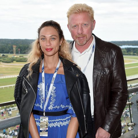 Lilly und Boris Becker 2011 in Ascot
