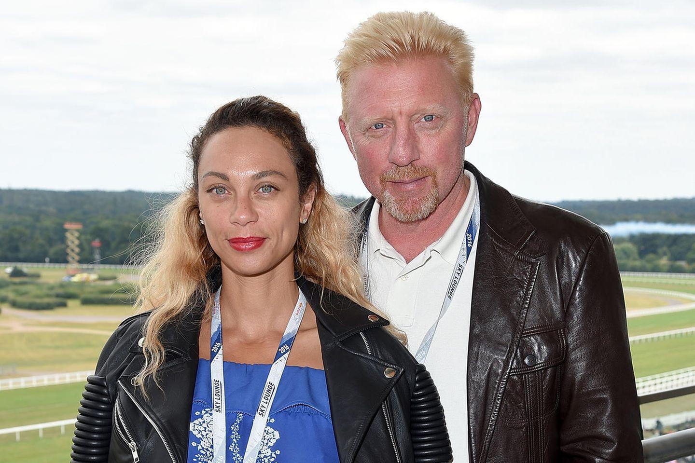 Lilly und Boris Becker 2011 in Ascot