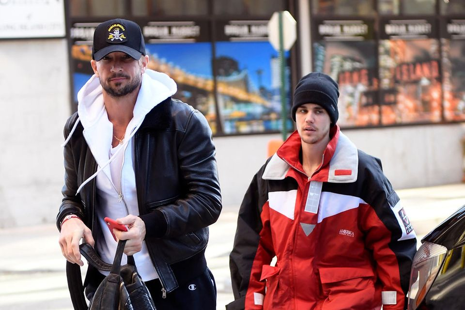 Pastor Carl Lentz und Justin Bieber im Februar 2019 in New York