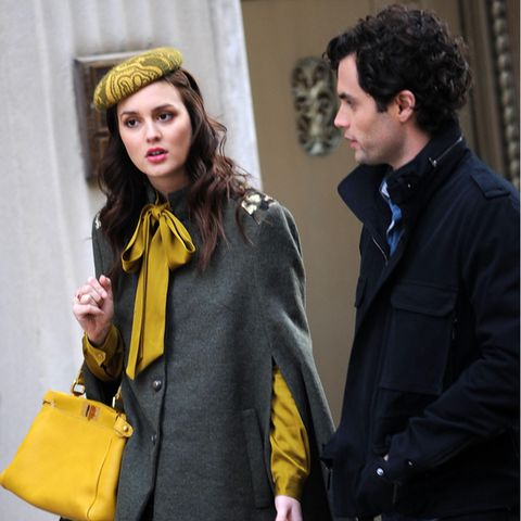 Blair Waldorf (Leighton Meester), Daniel Humphrey (Penn Badgley)