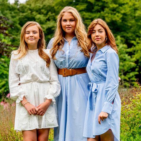 Prinzessin Ariane, Prinzessin Amalia undPrinzessin Alexia der Niederlande