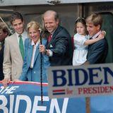 Die Bidens im Juni 1987: Hunter, Jill, Joe, Ashley und Beau.