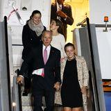 20. Juli 2016  Wenn man einen Vize-Präsidenten zum Großvater hat, kommt man auch in der Welt rum: Naomi, Natalie und Finnegan (v.l.) dürfen Joe Biden sogar nach New Zealand begleiten.