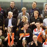 30. September 2017  Jubeln mit den Royals kann das Ehepaar Biden auch. Zusammen mit Prinz Harry fiebernsie mit den Teams des Finales im Rollstuhl-Basketball der Invictus Games in Toronto mit.