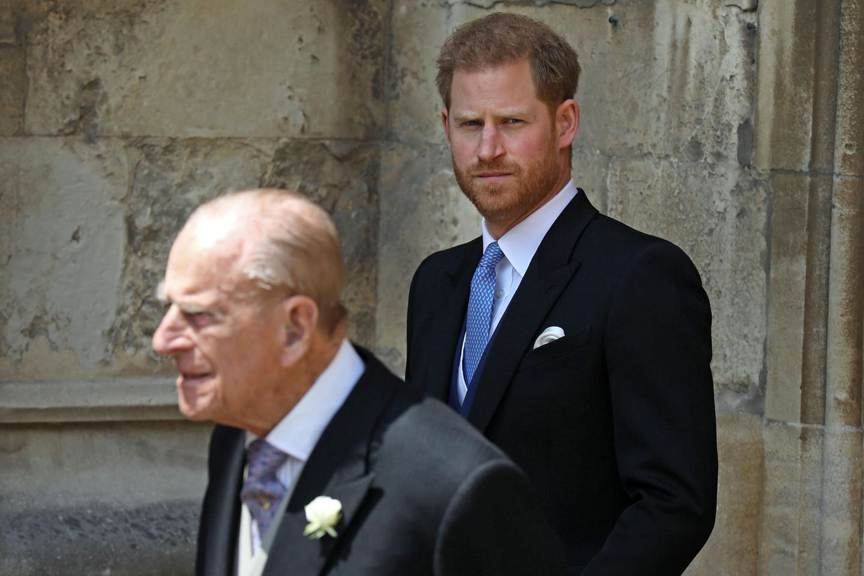 Prinz Philip, Prinz Harry