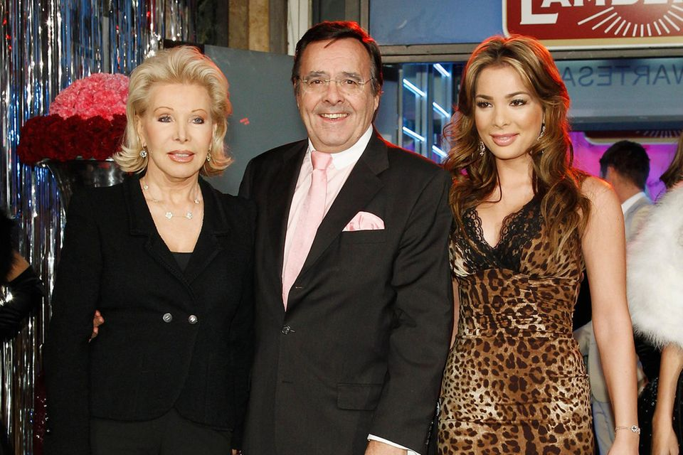 Ute-Henriette, Mario und Chiara Ohoven