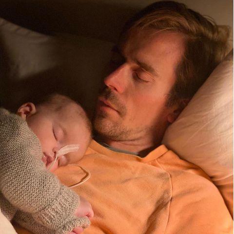 Dr. Johannes Wimmer konnte die letzten Wochen mit seiner Tochter Maximilia verbringen