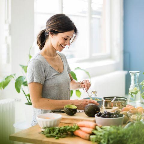 Single-Küche: Bewusst und ausgewogen kochen ist eine Liebeserklärung an unseren Körper