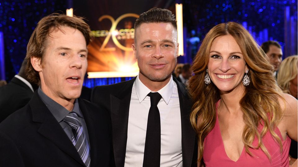 Danny Moder, Brad Pitt + Julia Roberts