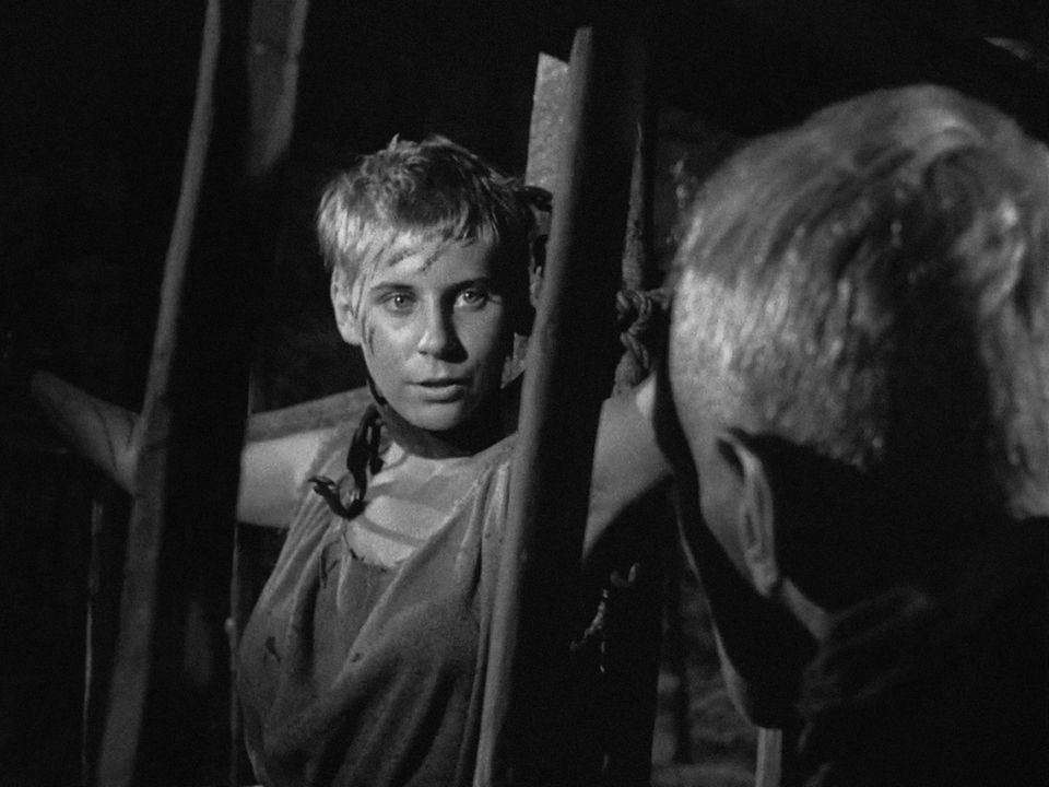 """Maud Hansson in """"Das siebente Siegel"""" 1957"""