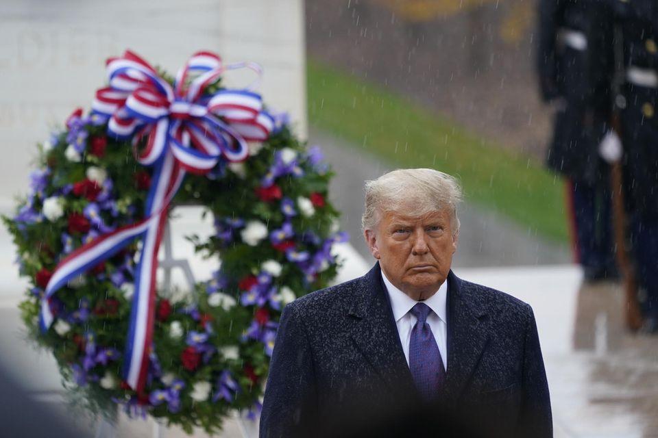 Donald Trump und das Wetter haben etwas gemeinsam: schlechte Laune.