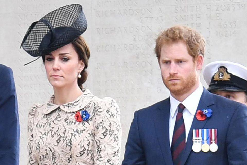 Herzogin Catherine + Prinz Harry