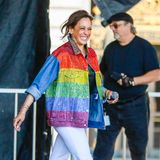 Kamala Harris im bunten Pride-Look