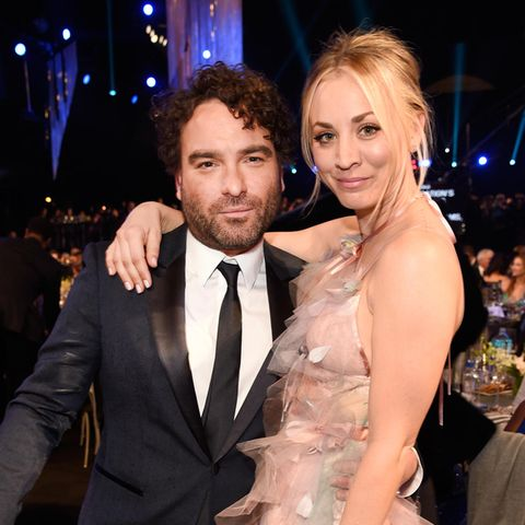 """The Big Band Theory""-Stars Johnny Galecki und Kaley Cuoco"