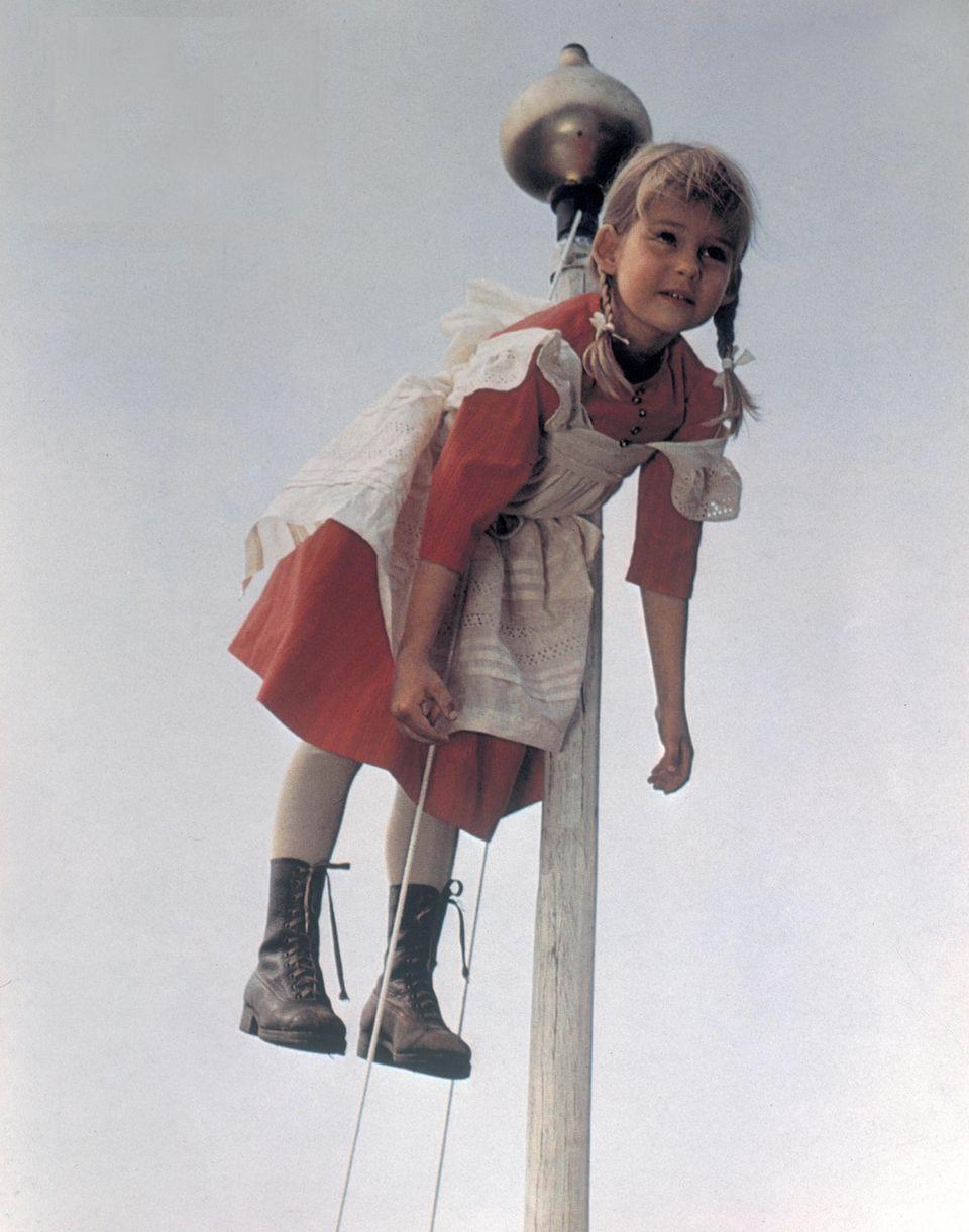 """Lena Wisborg als Ida in """"Michel bringt die Welt in Ordnung"""" 1973"""