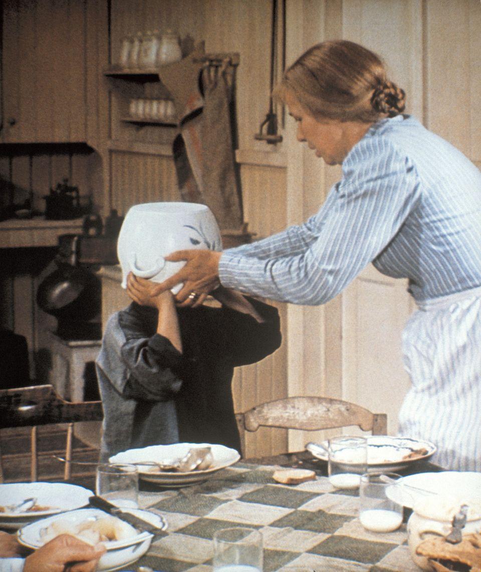"""Emy Storm in """"Michel in der Suppenschüssel"""" 1971"""