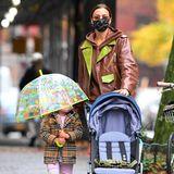Irina Shayk und Tochter Lea im luxuriösen Herbst-Look