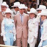 Yehaa, Charly! Auch im Cowboy-Outfit macht der Prinz eine gute Figur.