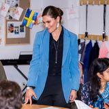 """Bereits im Oktober trägt Prinzessin Victoria den """"Tiger of Sweden""""-Blazer"""