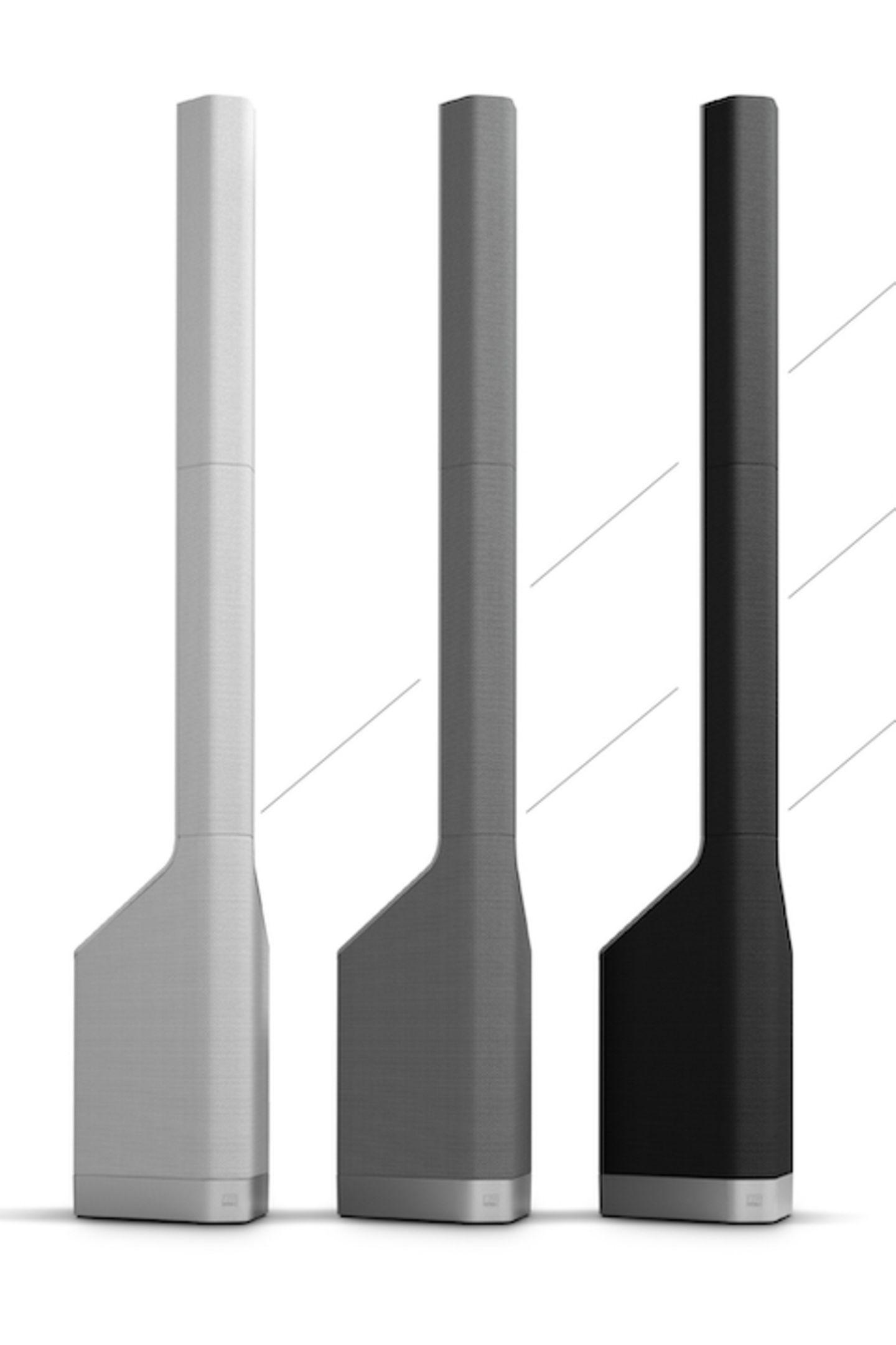 """KlangweltenDieSoundsysteme sind nicht nur ein akustischer Hochgenuss, sie veredeln auch jeden Raum durch ihr elegantes Design innerhalb einer Nanosekunde. """"MauiP900"""" von LD Systems, ca. 4000 Euro"""