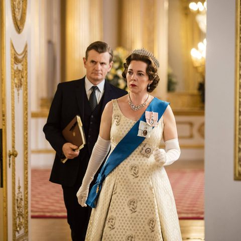 "Olivia Coleman als Queen Elizabeth in der Netflix-Serie ""The Crown"""
