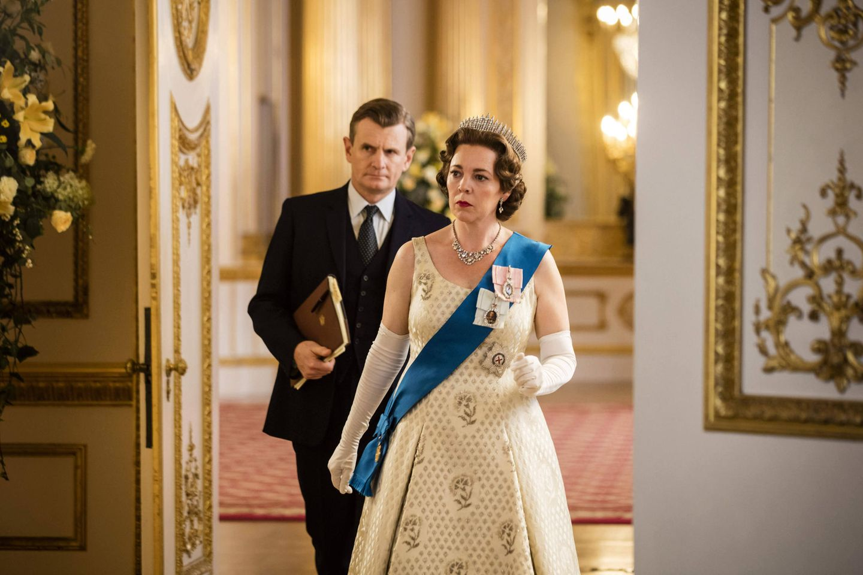 "Olivia Coleman als Queen Elizabeth in der Netflix-Serie""The Crown"""