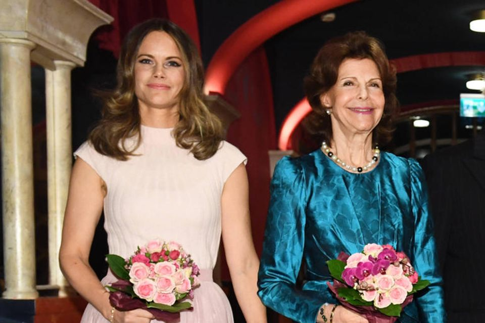 Prinzessin Sofia und Königin Silvia