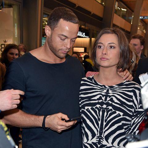 Andrej Mangold und Jennifer Lange