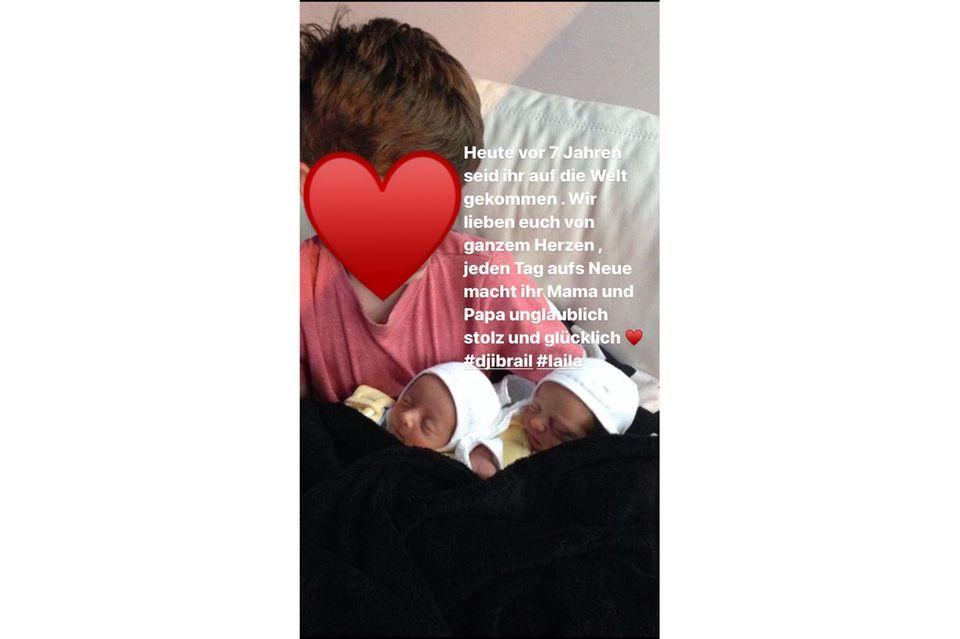 Anna-Maria Ferchichi: Sarah Connors Schwester zeigt ihre süßen Zwillinge