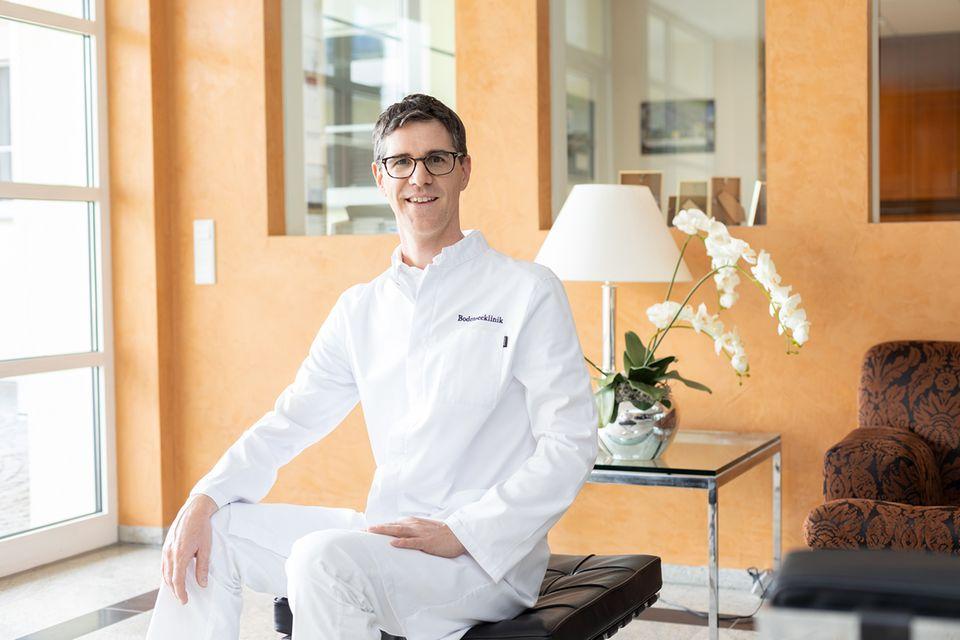 Dr. med. Jens Altmann, Facharzt für plastische Chirurgie, Bodenseeklinik Lindau