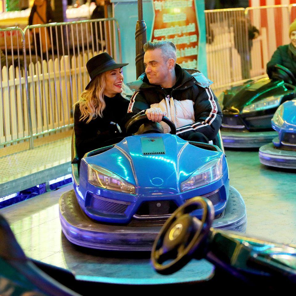 Ayda Field Williams und Robbie Williams