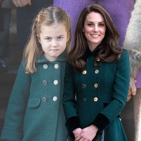 Herzogin Kate + Prinzessin Charlotte