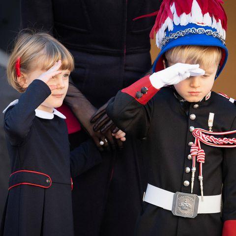Prinzessin Gabriella + Prinz Jacques von Monaco