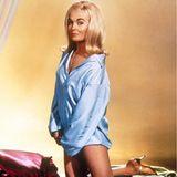 """Es ist der wohl erfolgreichste Bond-Film aller Zeiten: """"Goldfinger"""" ist der dritte Film der Bond-Reihe und mit Sean Connery in der Hauptrolle. Nicht weniger wichtig ist allerdings Shirley Eaton, die alsBondgirl Jill Masterson 1964internationalen Ruhm erlangte."""