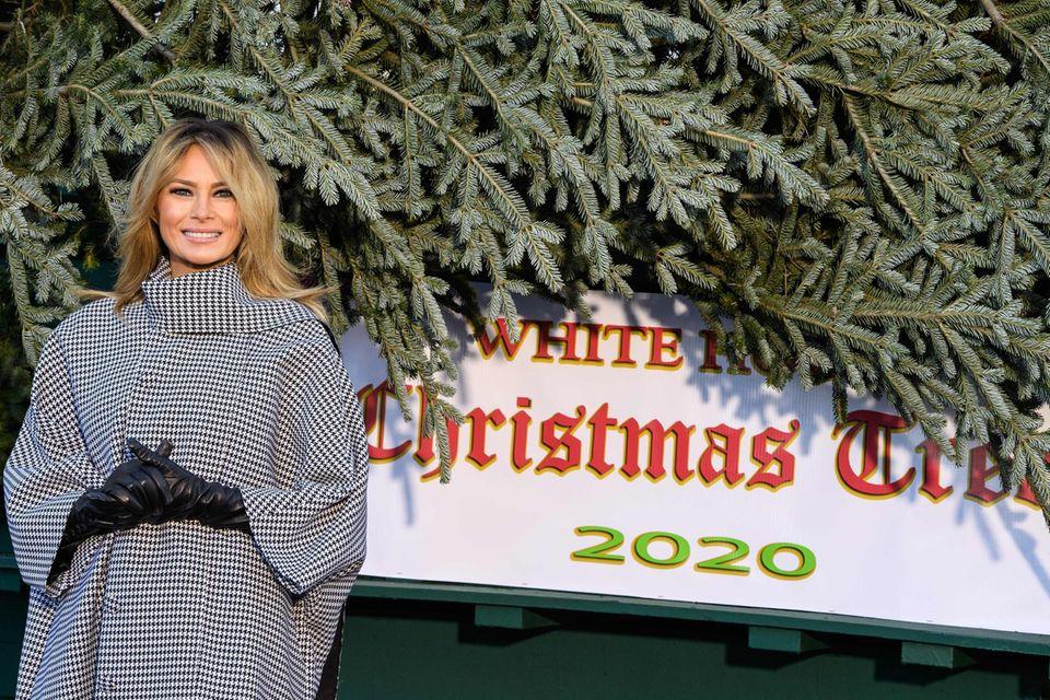 """Gute Miene zum bösen Spiel? ImSommer 2018 hatsich Melania über ihre Aufgabe als """"Weihnachts-Deko-Beauftragte"""" des Weißen Hauses beschwert. Das beweisen heimlich mitgeschnittene Tonbandaufnahmen."""