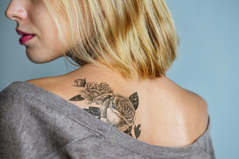 Tattoo-Pflege