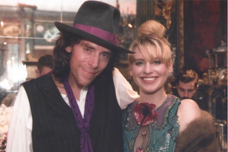 John Gilbert Getty mit Tochter Ivy