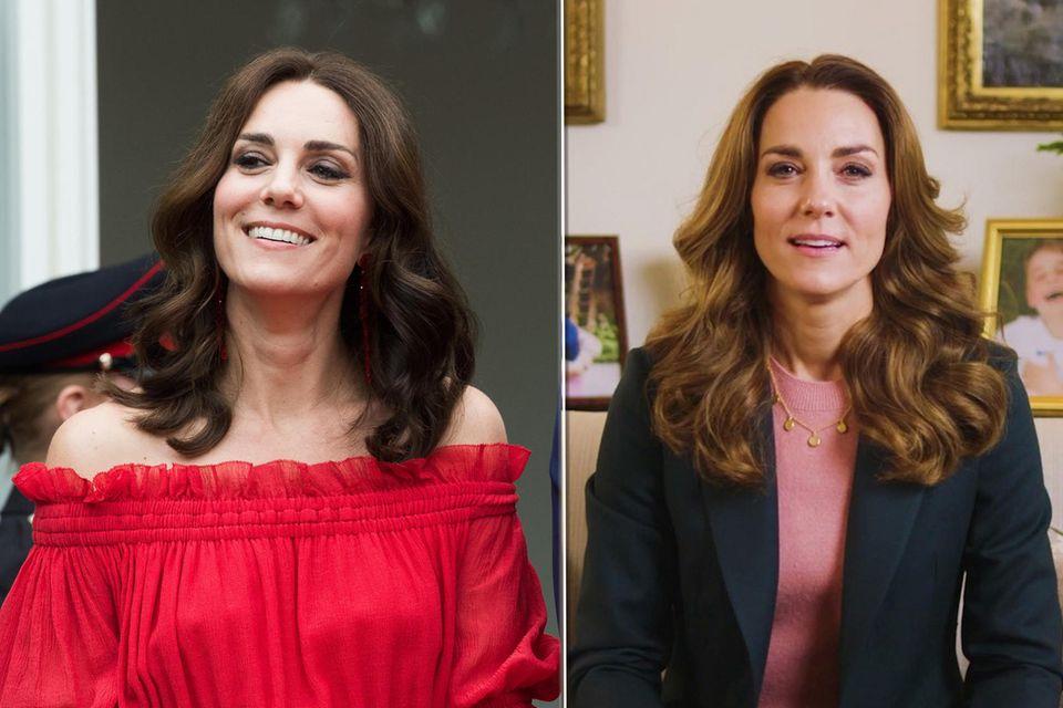 Herzogin Catherine hat ihre Beauty-Routine geändert.