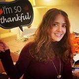 """""""Ich bin so dankbar"""" ist die Botschaft von Salma Hayek."""