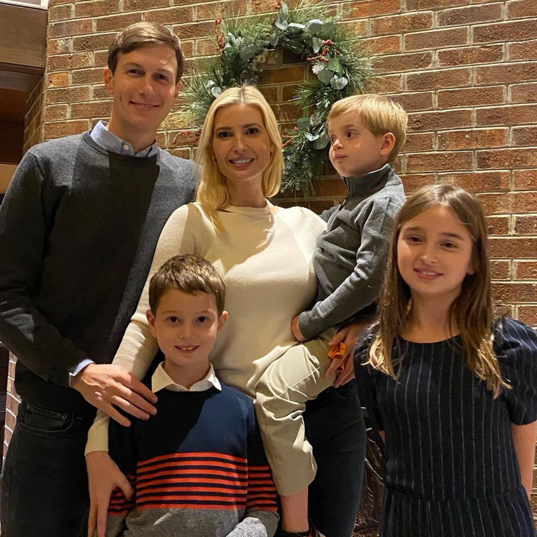 """Ivanka Trump und ihre Familie wünschen """"Happy Thanksgiving""""."""
