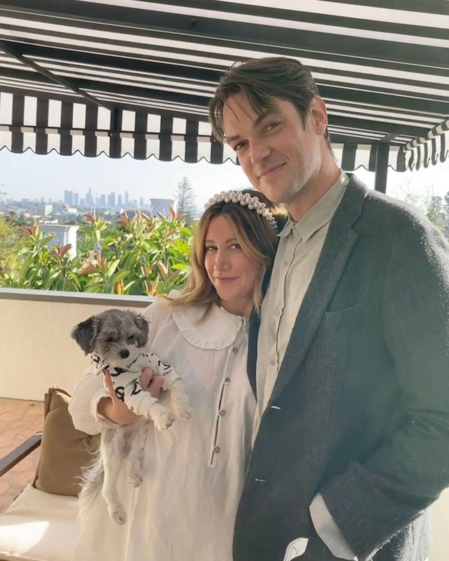 Für Ashley Tisdale und Christopher French ist es in diesem Jahr ein ganz besonderes Thanksgiving-Fest. Das Paar erwartet sein erstes Kind.