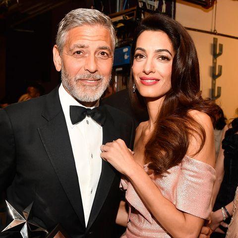 George + Amal Clooney