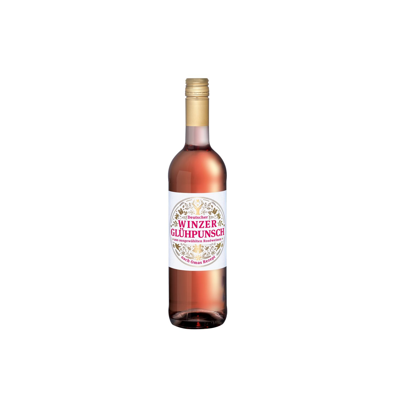 Rosige Adventszeit Derhochwertige, aromatisierteRoséwein wärmt uns zur kalten Jahreszeit von innen. Winzer Glühpunsch von Lidl, ca. 3,89 Euro