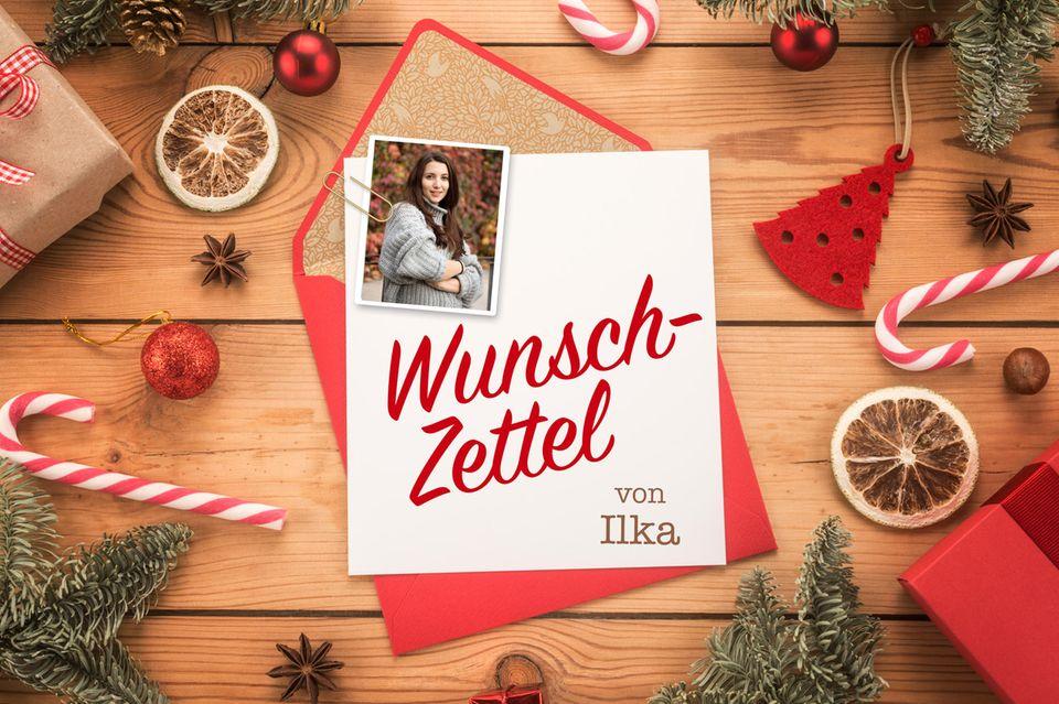 Wunschzettel zu Weihnachten von Ilka